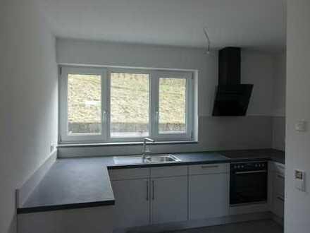 Erstbezug: stilvolle 3-Zimmer-Erdgeschosswohnung mit Einbauküche und Balkon in Illerkirchberg