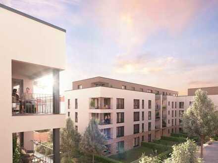 In Best-Lage: 2-Zimmer-Penthaus mit West-Balkon, Tageslichtbad und praktischem HWR