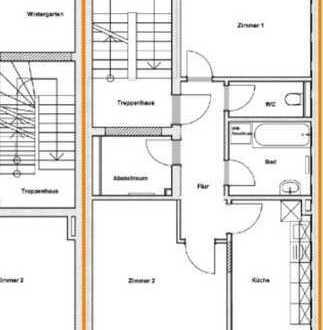 WG-Zimmer in schicker 2-Zimmer-Wohnung im Dortmunder Zentrum