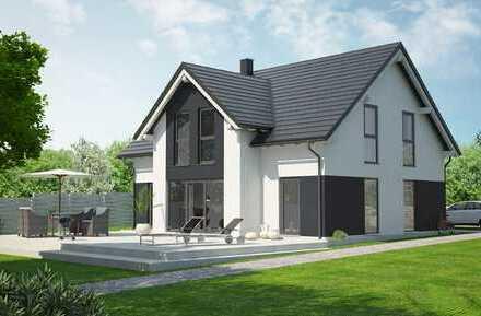 EFH 151 m², Grund 790 m², Niedrigenergie Massivhaus, ruhig und doch verkehrsgünstig
