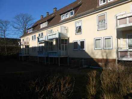 Frei ab sofort, 3-Zimmer-Wohnung mit Wannenbad und Balkon, am Bürgerpark in HBF-Nähe