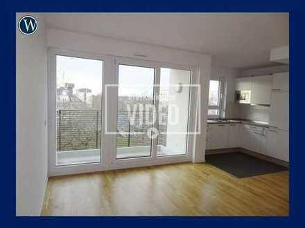 City-Wohnung im Neubau! Moderne 2 Zimmer mit Balkon, Einbauküche und Parkett, Duschbad, Aufzug