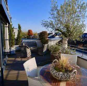 Exklusive Wohnung im Zentrum Pulheims -Terrasse, EBK, Kamin, 2 TG-Plätze, Balkon-