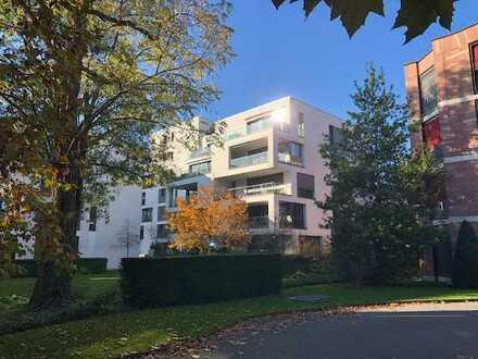 2-Zimmerwohnung mit Gartenanteil im CUBUS: Wohndesign in Toplage ehem. Botanischer Garten