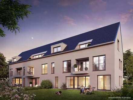 3 Zi.-Wohnung mit Wohnküche und Gartenanteil.