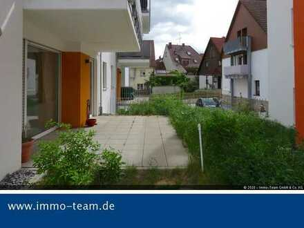 ++ barrierefreie EG-Whg mit Garage, Stellplatz und Terrasse++
