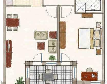 Moderne 2,5 Zimmerwohnung mit TG-Stellplatz direkt in Bad Mergentheim!