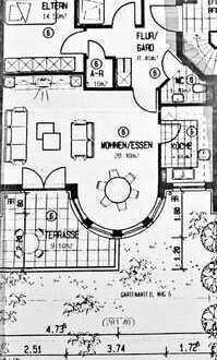 Wundervolle und helle 3 Zimmer Terrassenwohnung in Waiblingen
