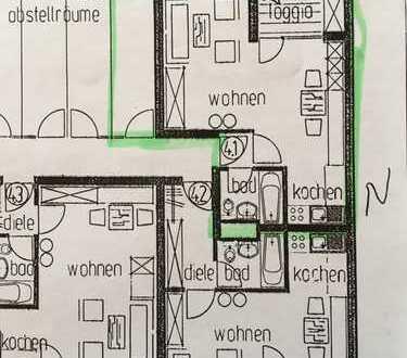 Gemütliche 1-Zimmer-Wohnung mit Balkon und EBK in Heidelberg