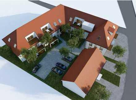 Neubau Mehrfamilienhaus, attraktive und großzügige 3 Zimmer DG-Wohnungen