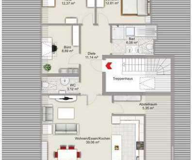 Neubau Dach-Wohnung in Denklingen-Dienhausen