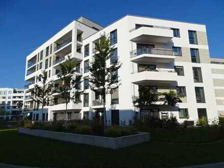 Schicke 2 Zimmerwohnung, neuwertig, Fußbodenheizung, Balkon, EBK! Inkl. TG, Möbelübernahme möglich