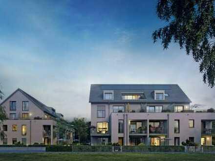 Moderne 3-Zimmer-Gartenwohnung mit West-Terrasse in ruhiger Lage