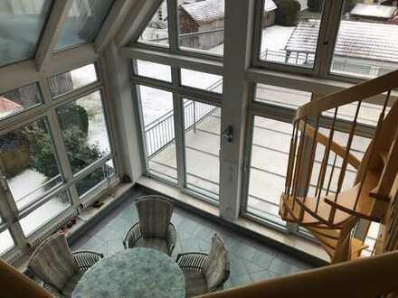 Luxuriöse 10-Zimmerwohnung mit Sauna und Wintergarten in Jettingen