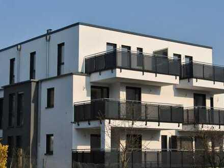 Erstbezug: exklusive 3-Zimmer-Erdgeschosswohnung mit Balkon in Frankfurt