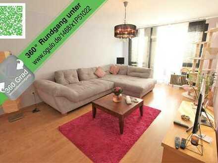 SCHWIND IMMOBILIEN - helle 2-Zimmer Wohnung mit Skyline-Blick +++ideale Kapitalanlage+++