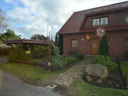 Sehr schöne Doppelhaushälfte mit fünf Zimmern in Harburg (Kreis), Dohren