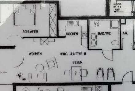 Schöne 2 Zimmer Wohnung in Bad Mergentheim