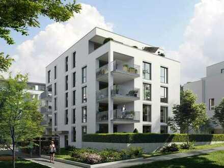 3-Zimmer-Wohnung mit ruhigem Balkon in idyllischer Lage