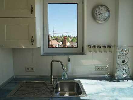 Exklusive 3-Zimmer-Wohnung mit Einbauküche in S-Degerloch