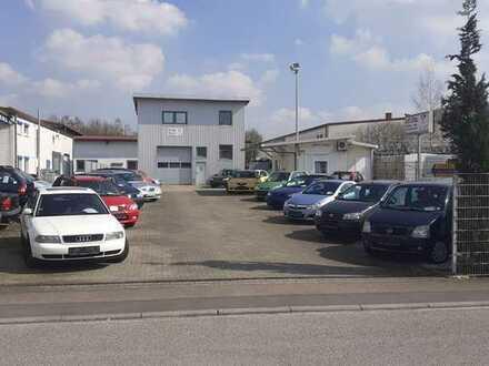 Gewerbegrundstück / Autohandel inkl. Werkstatt und Inventar