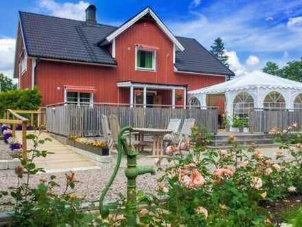 Bed & Breakfast in der Provinz Haland/Schweden