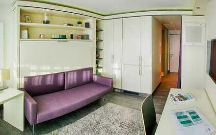 Nachmieter gesucht: Vollmöbliertes Studio-Apartment mit All-Inklusive-Miete in Sendling, München