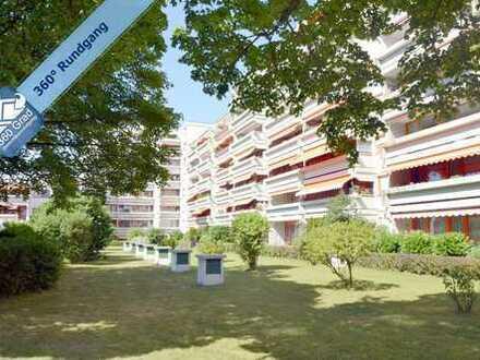 Gepflegte 2,5-Zimmer-Wohnung mit Loggia in Unterhaching