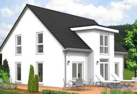 Familienfreundl. Haus 5 Zi. a. e. attrakt. Baugrundst. 284 m² i. Weilrod/Altweiln b. Bad Hg.
