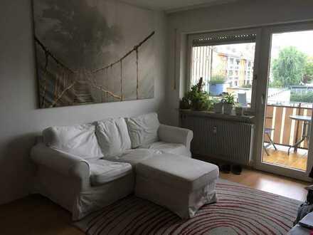 Freundliche 2-Zimmer-Wohnung mit Balkon und Einbauküche in Bamberg Ost