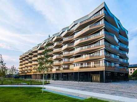 Luxuriöse, neue 2-Zimmer-Wohnung mit Sonnenbalkon
