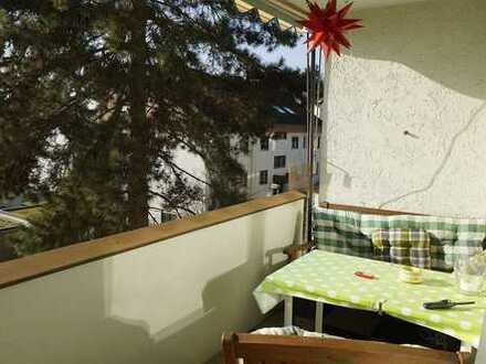 Sonnige 3-Zimmer-Wohnung mit schönem Blick in bester Lage von Höfingen