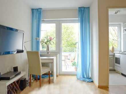1-Zi. Apartment für 6-12 Monate nähe Kolumbusplatz für 1 Person