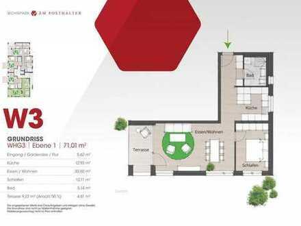 WOHNPARK AM POSTHALTER (Haus 2) - Wohnung 3