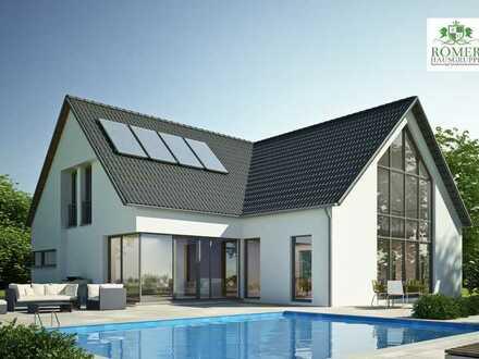 """Ihr Traumhaus """"Römer""""-EFH mit ca 800m² Grund, schlüsself. in KfW 55"""