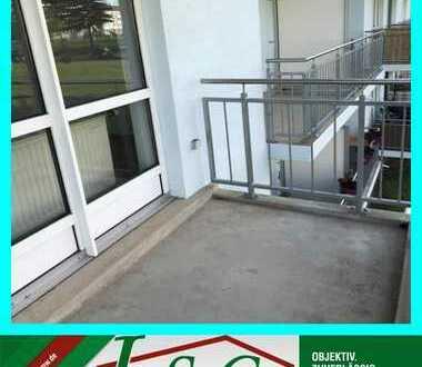 3-Raum Wohnung mit 2 Balkonen im 1. OG - RENOVIERT!