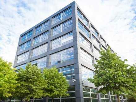 Attraktives Bürogebäude, 3-geschossig, mit Dachterrasse/Wohnung, ca. 380 qm, Baden-Bad./Gewerbegeb.