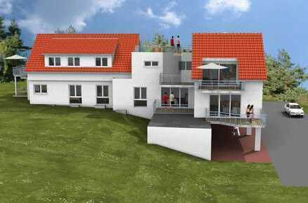 3-Zi.-Neubau-ETW im Erdgeschoss eines 5-Fam.-Hauses mit Personenaufzug