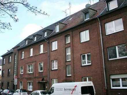 Eigenbedarf oder vermietet, 2-Zimmer DG Wohnung mit Wohnküche in Duisburg, Wohnung Nr. 11