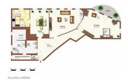 Schöne, geräumige 4 Zimmer Wohnung in Braunschweig, Viewegs Garten-Bebelhof
