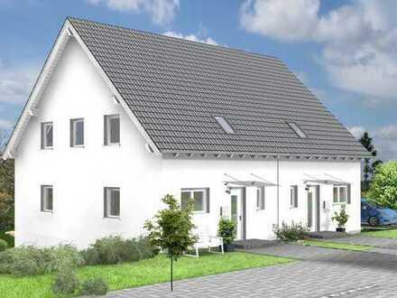 DHH mit wunderschönem Grundstück an Feldrandlage -Südausrichtung-