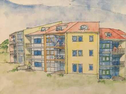 Kleines Apartment mit EBK, Terrasse sowie Stellplatz