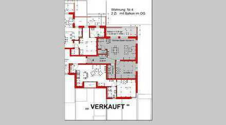 Neubau! - 2 Zimmer OG Whg. mit Süd- West Balkon (Whg. Nr. 4)