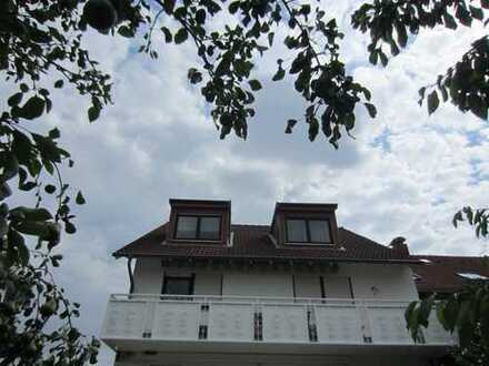 Exklusive, helle, teilmöblierte 2-Zimmer-Mansardenwohnung in Frankfurt am Main - Nied