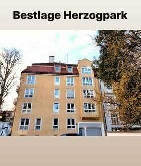 Helle Dreizimmerwohnung - in Bestlage Herzogpark