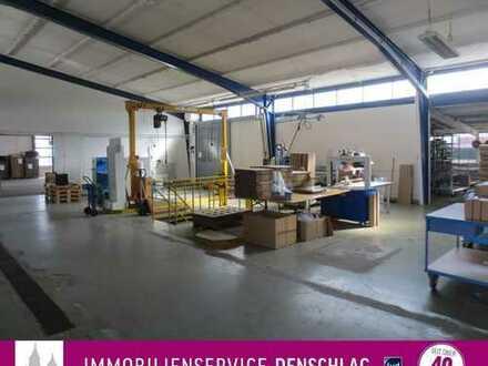 600 m² Produktions- / Lager- / Werkstatthalle mit Top-Verkehrsanbindung