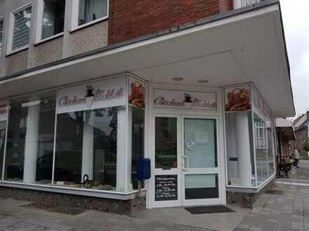 Eck-Ladenlokal mit Verkaufsraum+Nebenflächen, Bäcker, Cafe, Kiosk, Ausstellung, Verkaufsbüro
