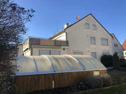 Große Doppelhaushälfte in Ingersheim, sofort frei