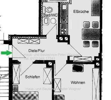 **WG geeignete 2-Raum Wohnung in der Nordvorstadt ab sofort frei**