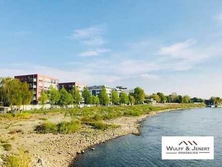 Exklusive 4 Zi. Wohnung in bester Wohnlage direkt am Stammheimer Ufer